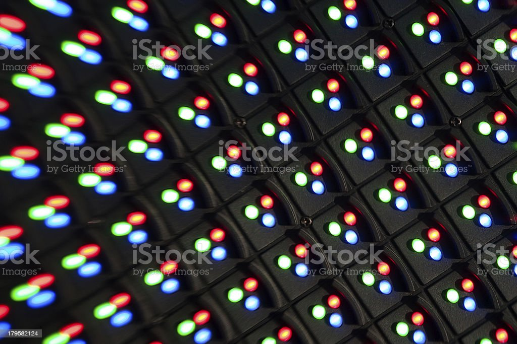 led screen panel royalty-free stock photo