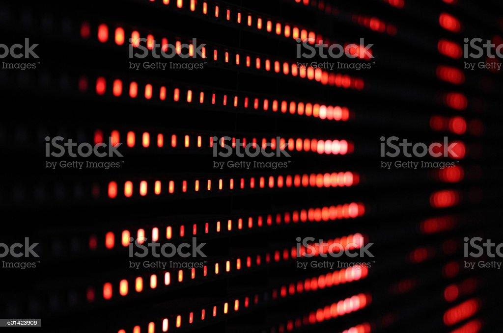led screen stock photo