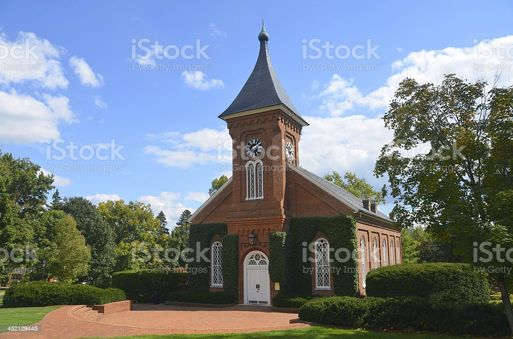 Lee Chapel and Museum stock photo
