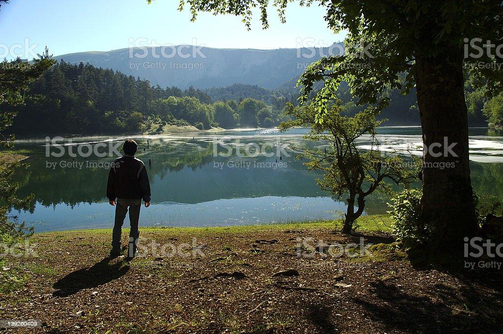 Leech Lake II stock photo