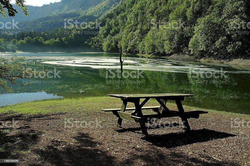 Leech Lake stock photo
