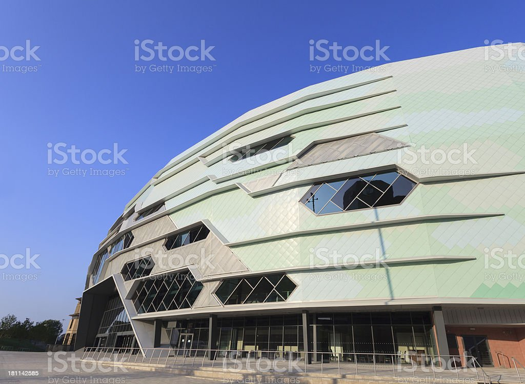 Leeds Arena stock photo