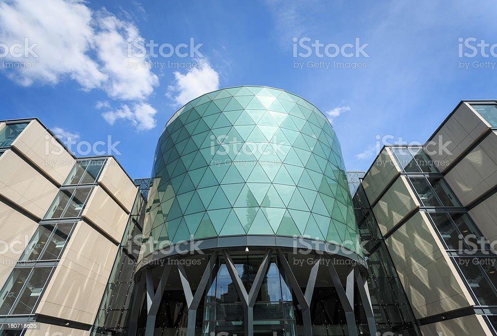 Leeds Beckett University Campus, Rose Bowl Building royalty-free stock photo