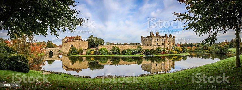 Leeds Castle, Kent, England stock photo