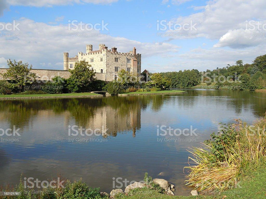 Leeds Castle Kent stock photo