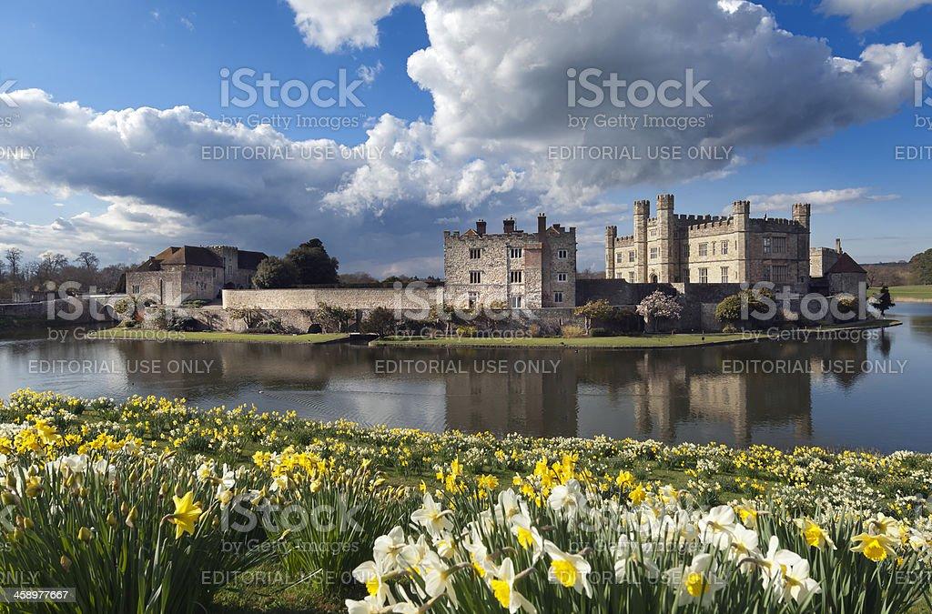 Leeds Castle Kent UK stock photo