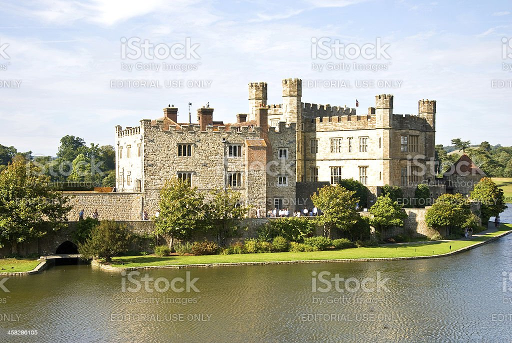 Leeds Castle, Maidstone, Kent, UK royalty-free stock photo