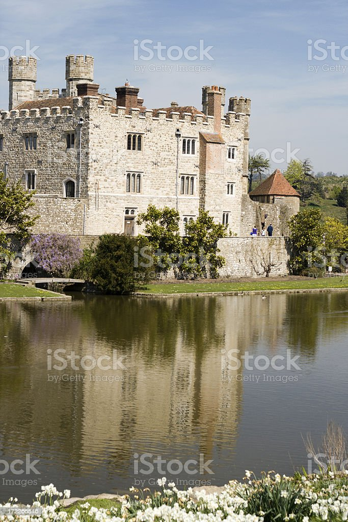 Leeds castle royalty-free stock photo