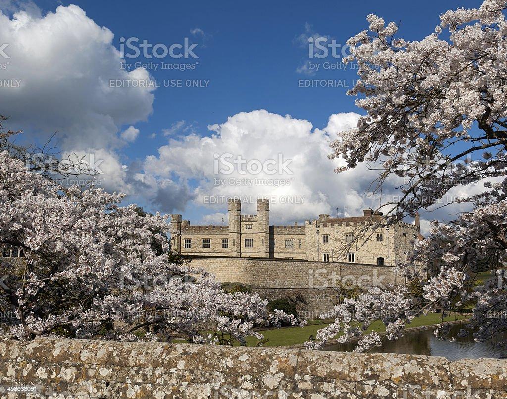 Leeds Castle stock photo
