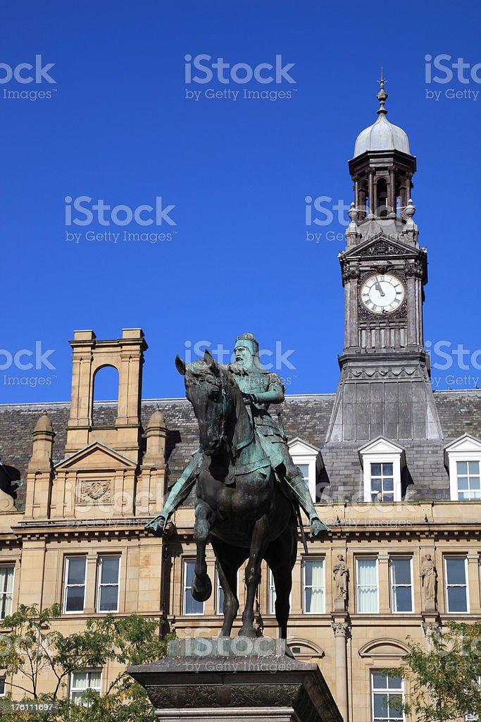 Leeds City Square stock photo