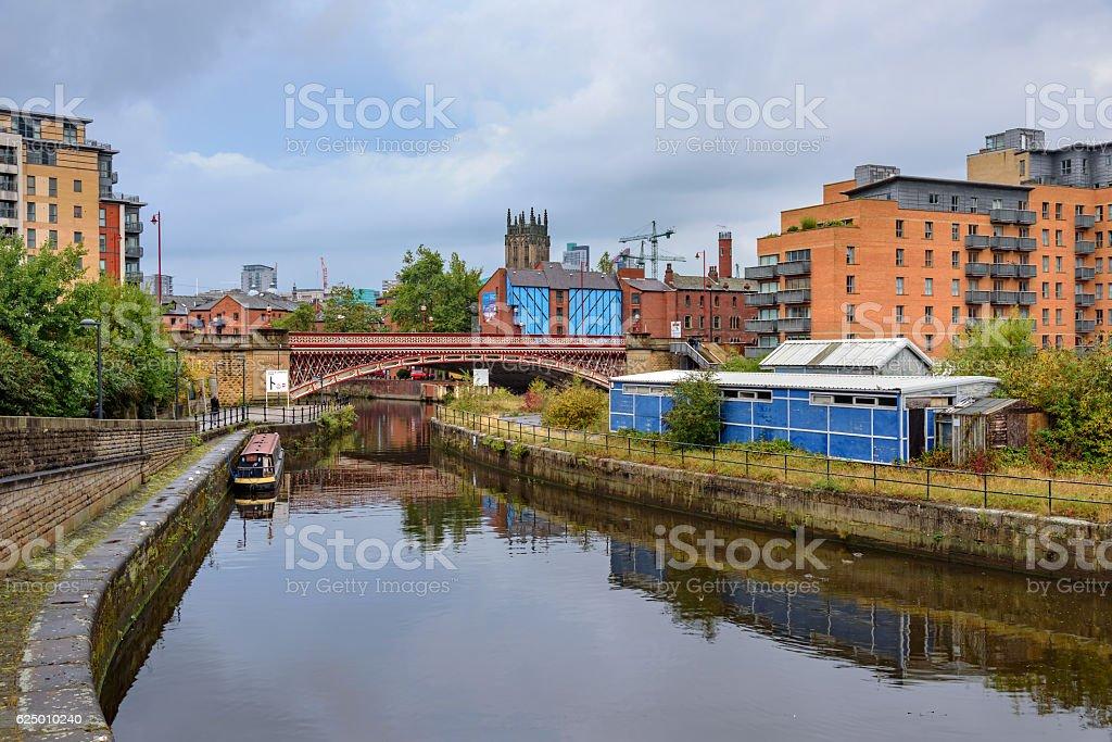 Leeds Clarence Dock-Leeds, England stock photo