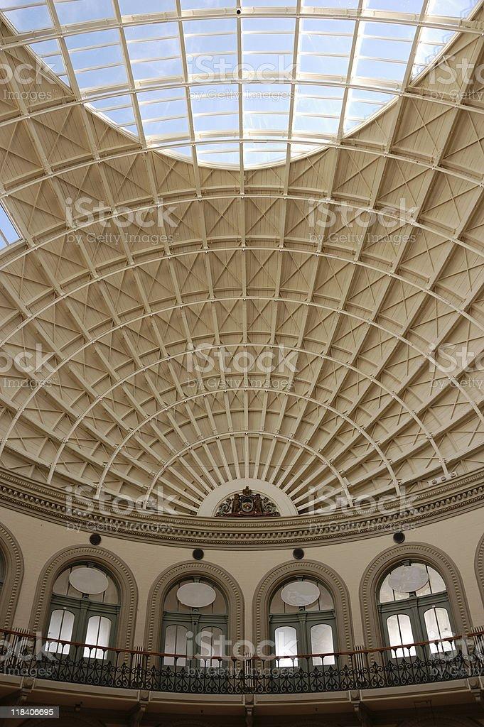 Leeds Corn Exchange stock photo