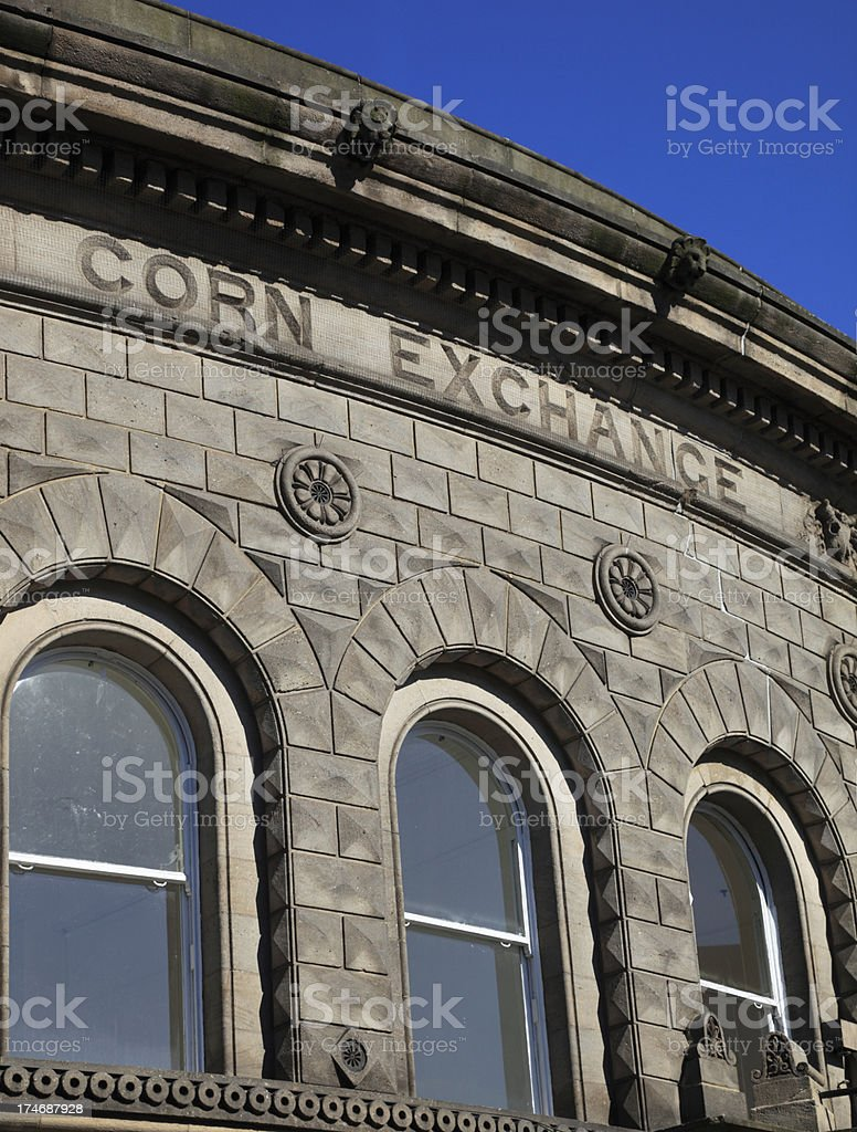 Leeds Corn Exchange royalty-free stock photo