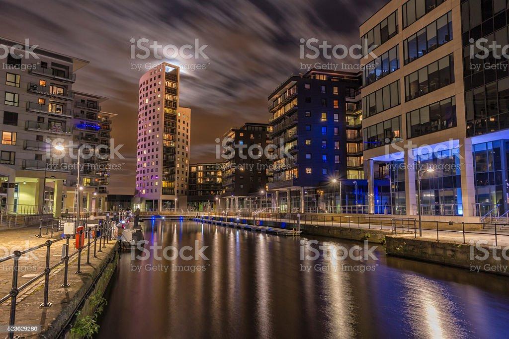 Leeds Dock, West Yorkshire stock photo
