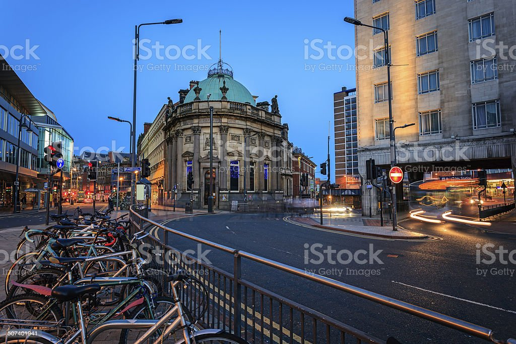 Leeds England stock photo