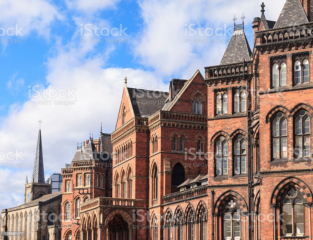 Leeds General Infirmary stock photo