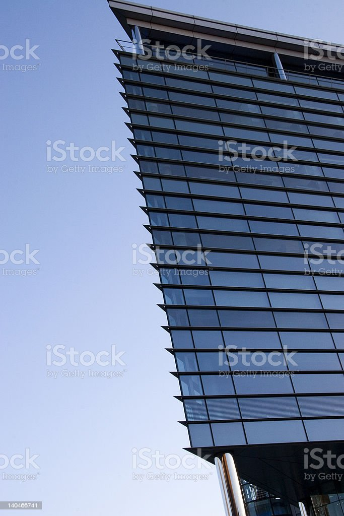 Leeds Office building royalty-free stock photo