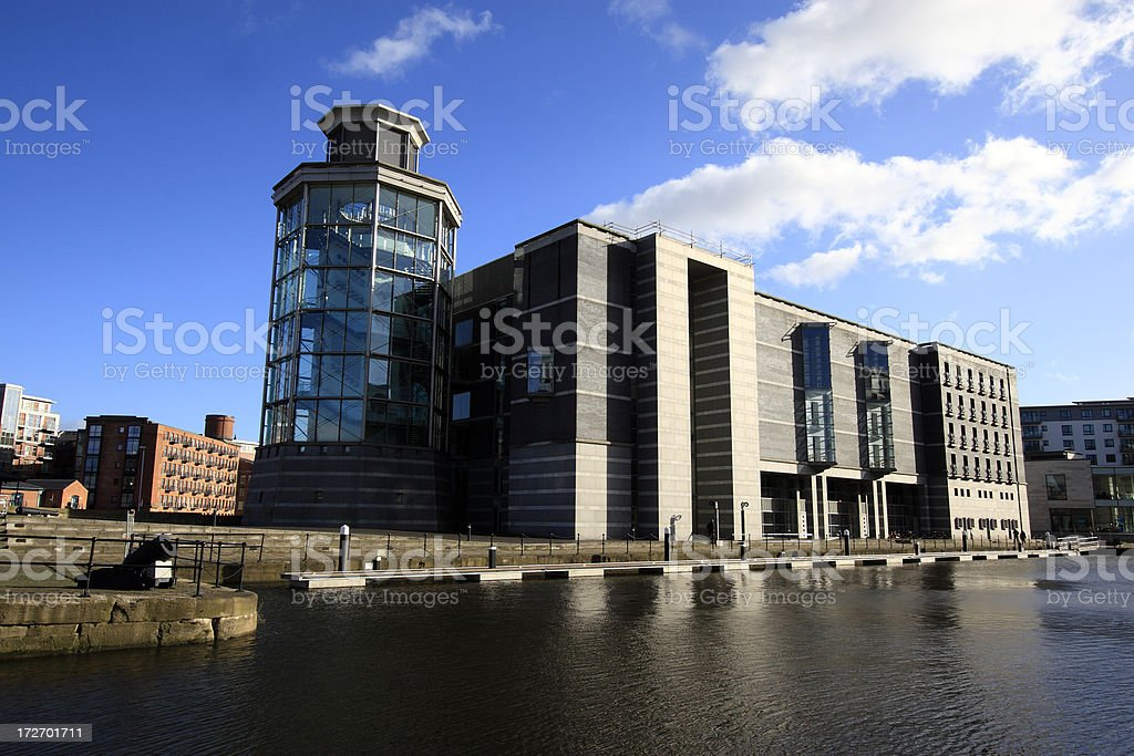 Leeds Royal Armouries stock photo