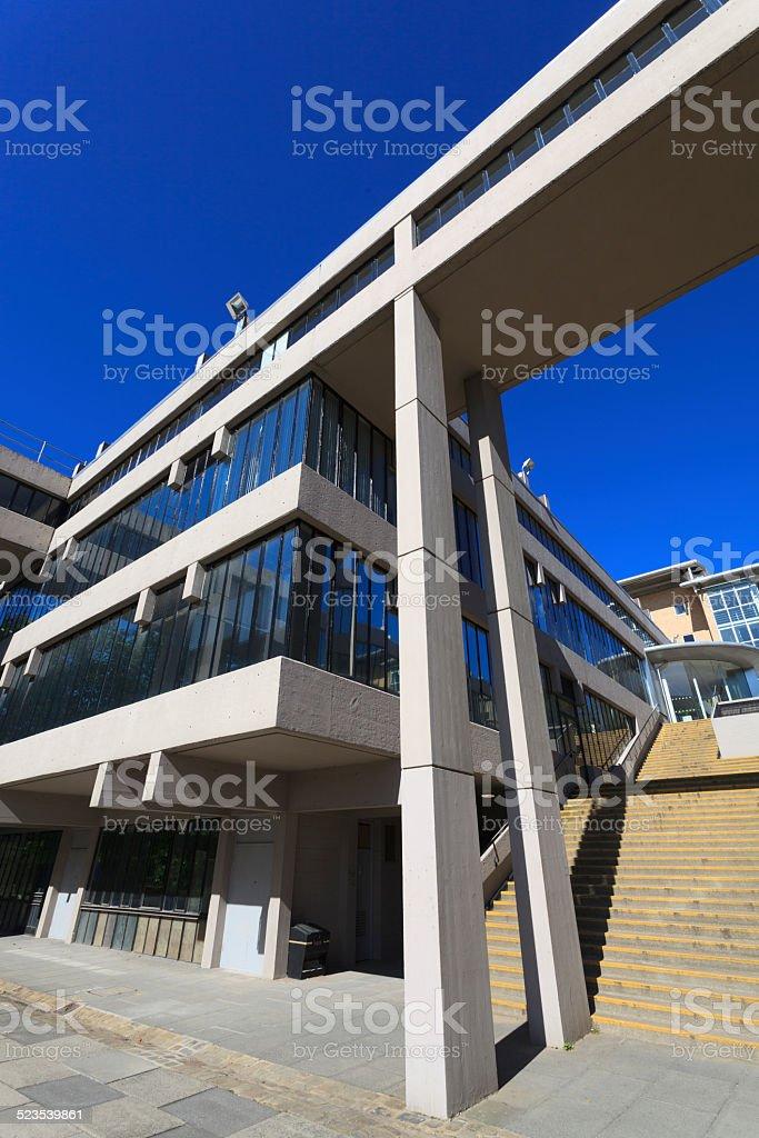 Leeds University Campus stock photo
