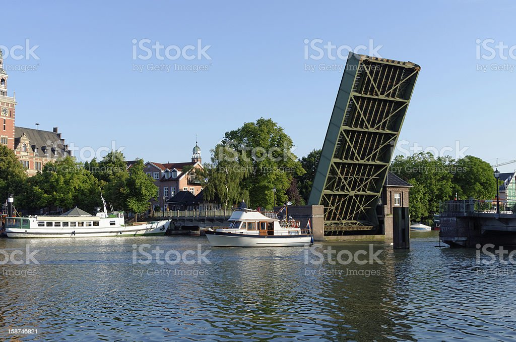 Leer Harbour View royalty-free stock photo