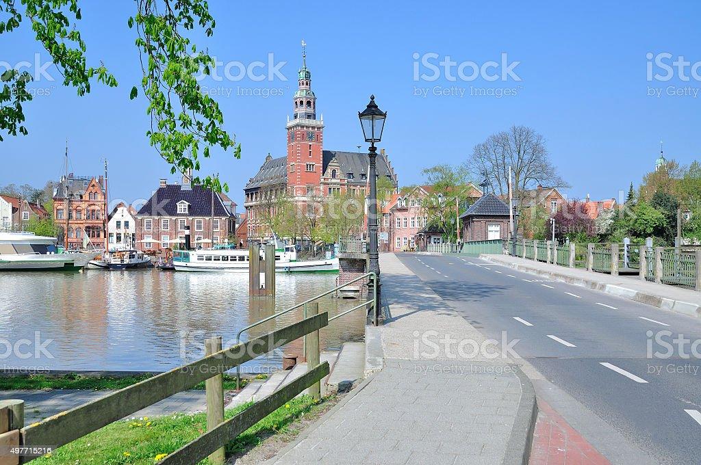 Leer,east Frisia,North Sea,Germany stock photo