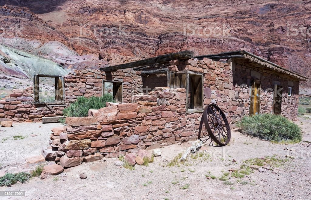 Lee's Ferry Ruins stock photo