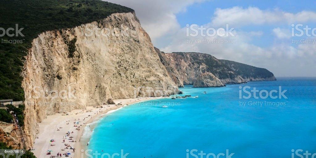 Lefkada stock photo