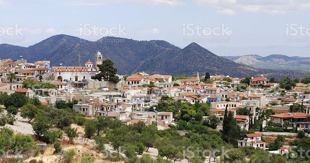 Lefkara village , Cyprus stock photo