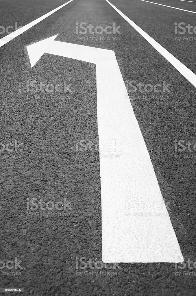 left direction royalty-free stock photo