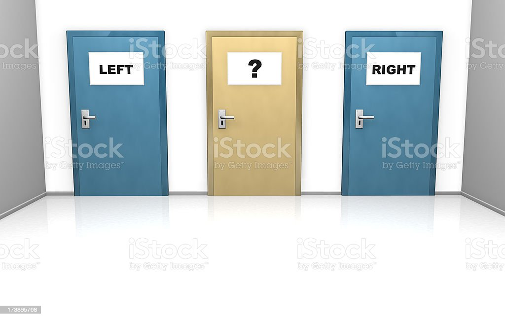 left or right royalty-free stock photo