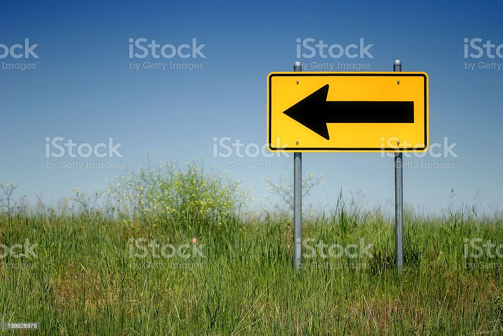 left turn royalty-free stock photo