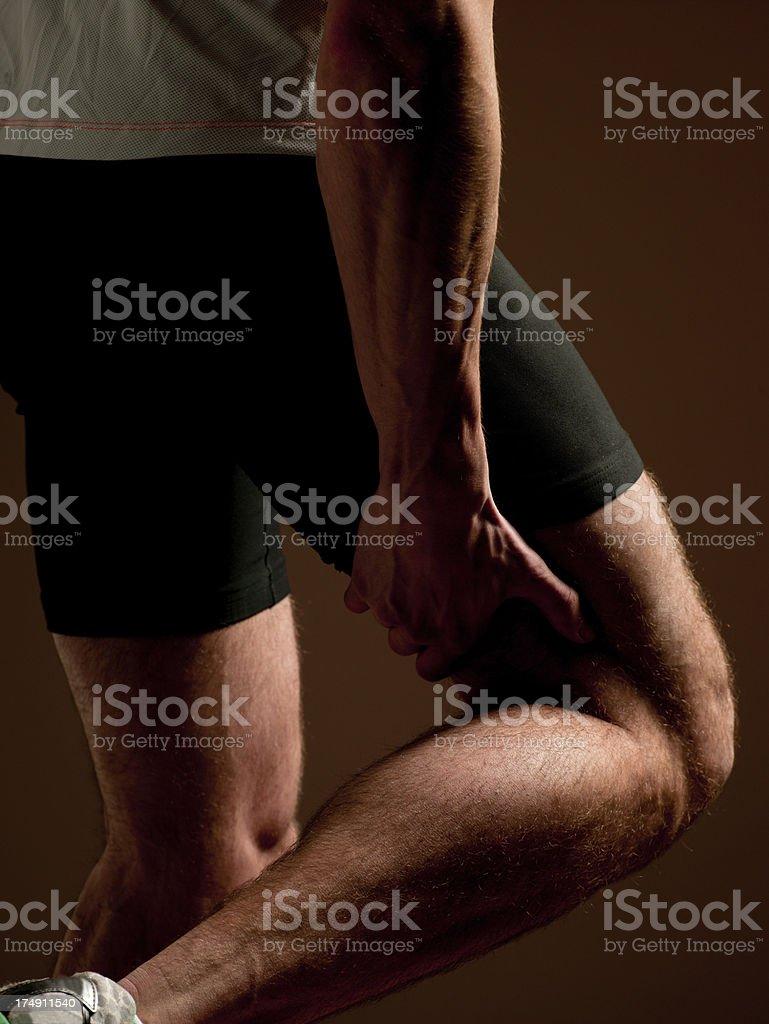 Leg Injury royalty-free stock photo