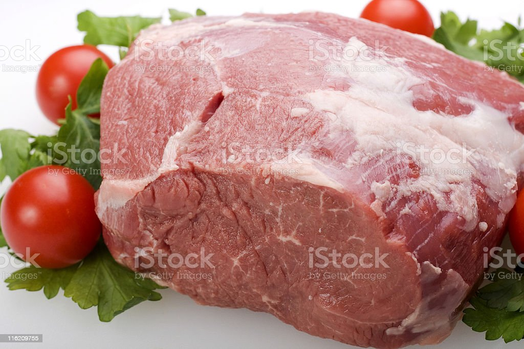 Leg of Lamb royalty-free stock photo
