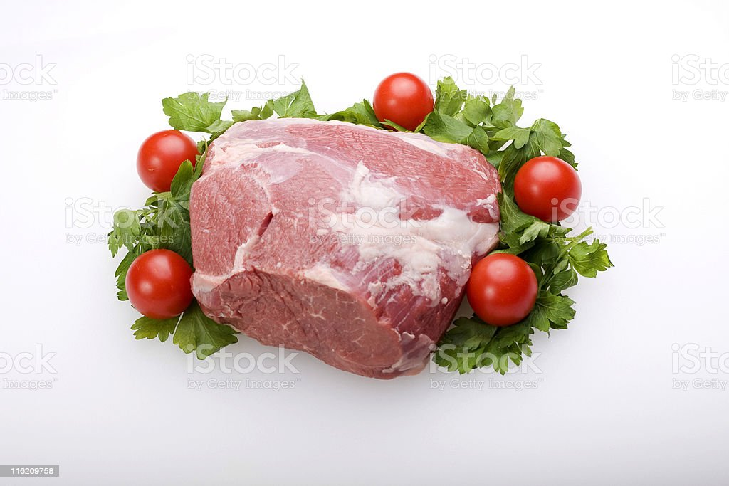 leg of Lamb royalty-free stock photo
