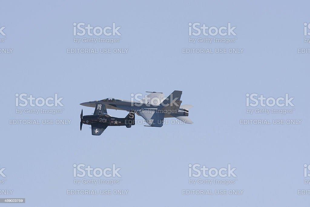 Legacy Flight royalty-free stock photo