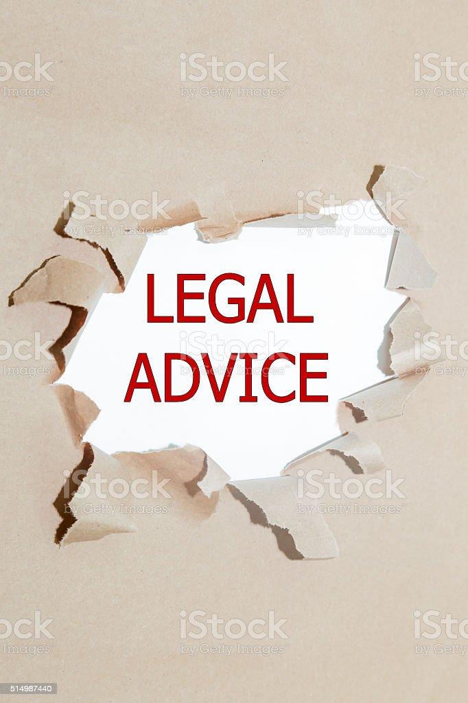 legal advice stock photo