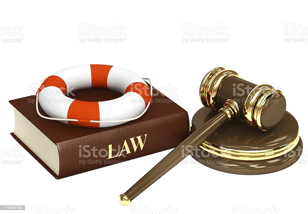 Legal aid royalty-free stock photo