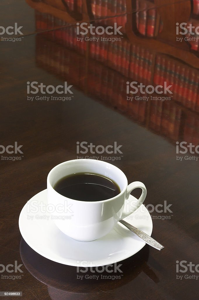 Legal Coffee Cup #1 royalty-free stock photo