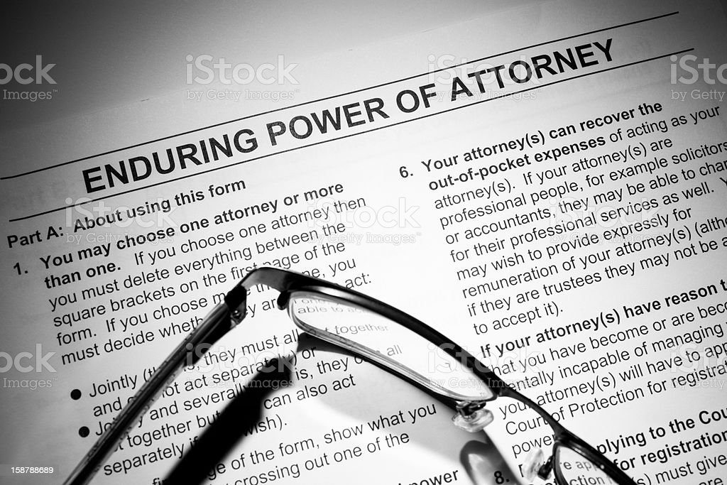 legal document stock photo