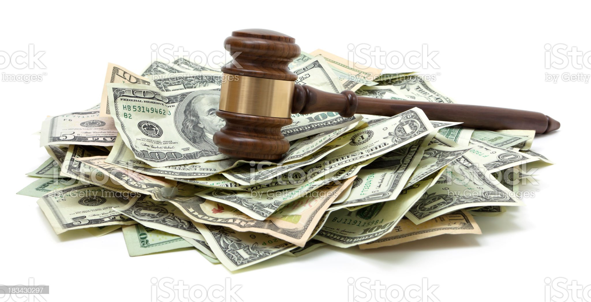 Legal fees royalty-free stock photo