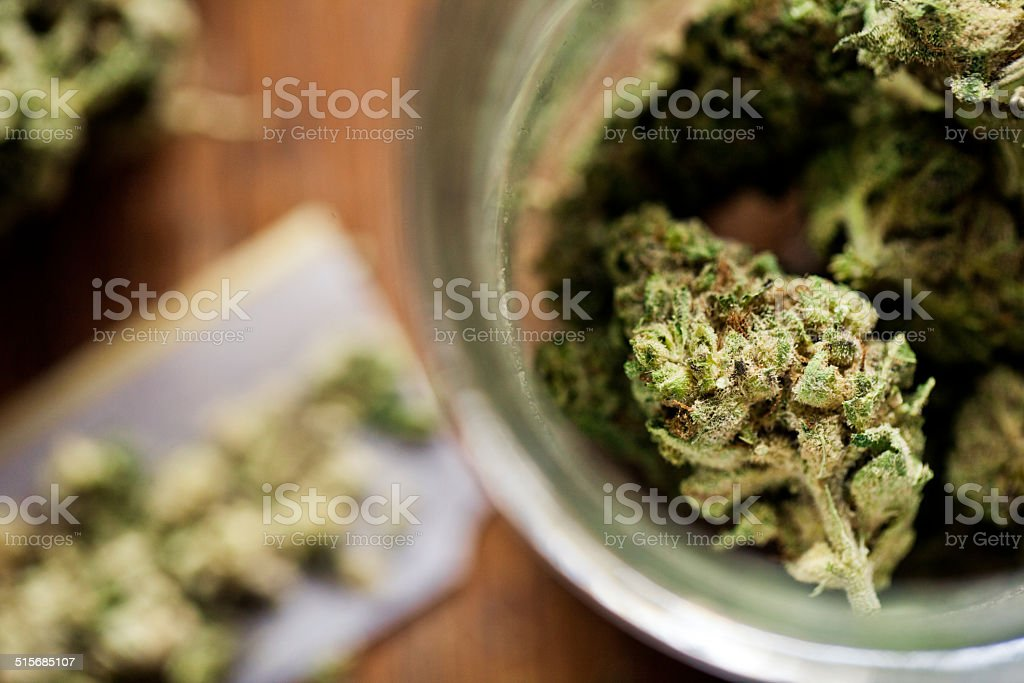 Legal Marijuana stock photo