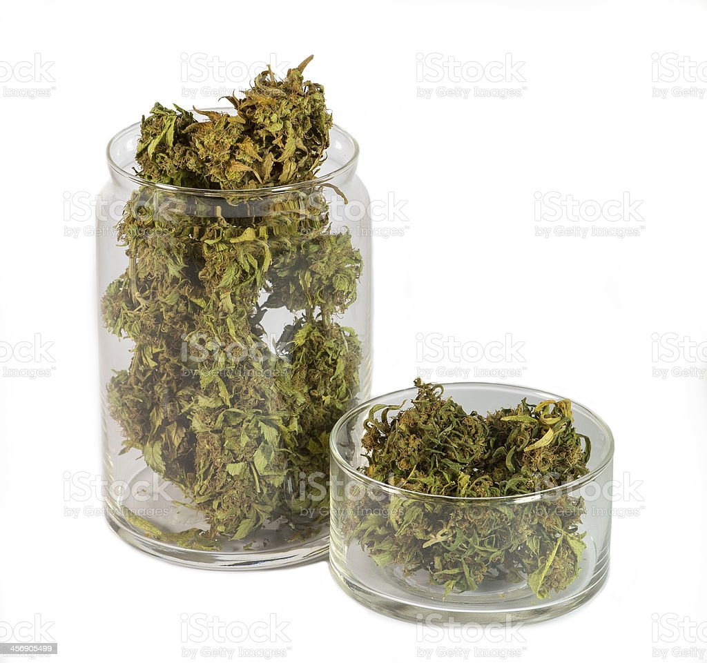 Legal medical marijuana stock photo
