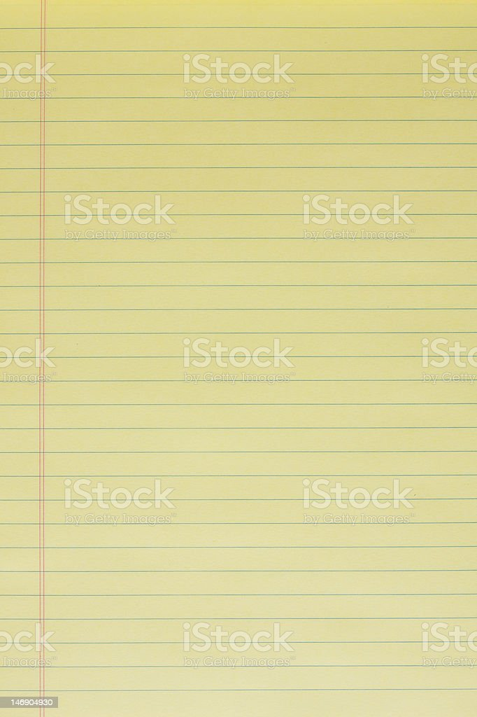 Legal Pad royalty-free stock photo