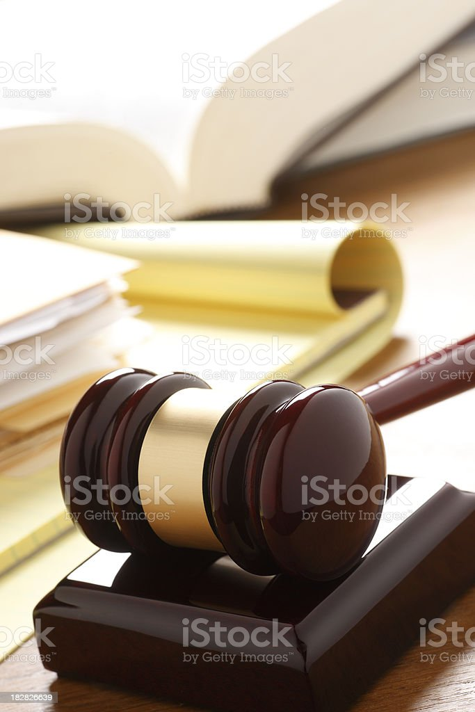 Legal Research royalty-free stock photo