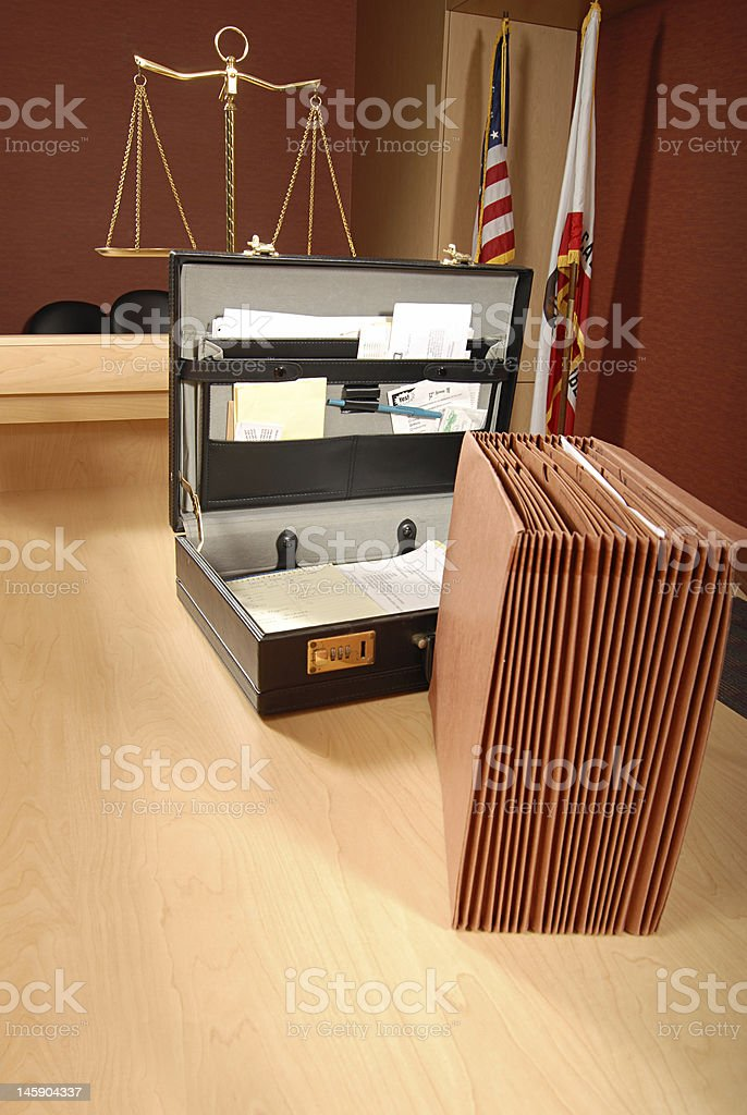 Legal scene royalty-free stock photo