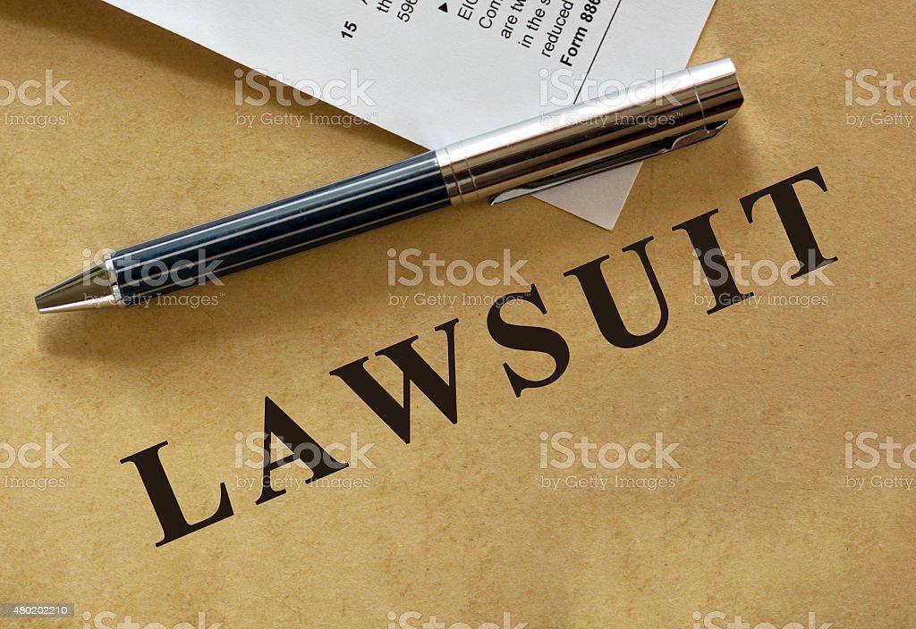 Legal series stock photo