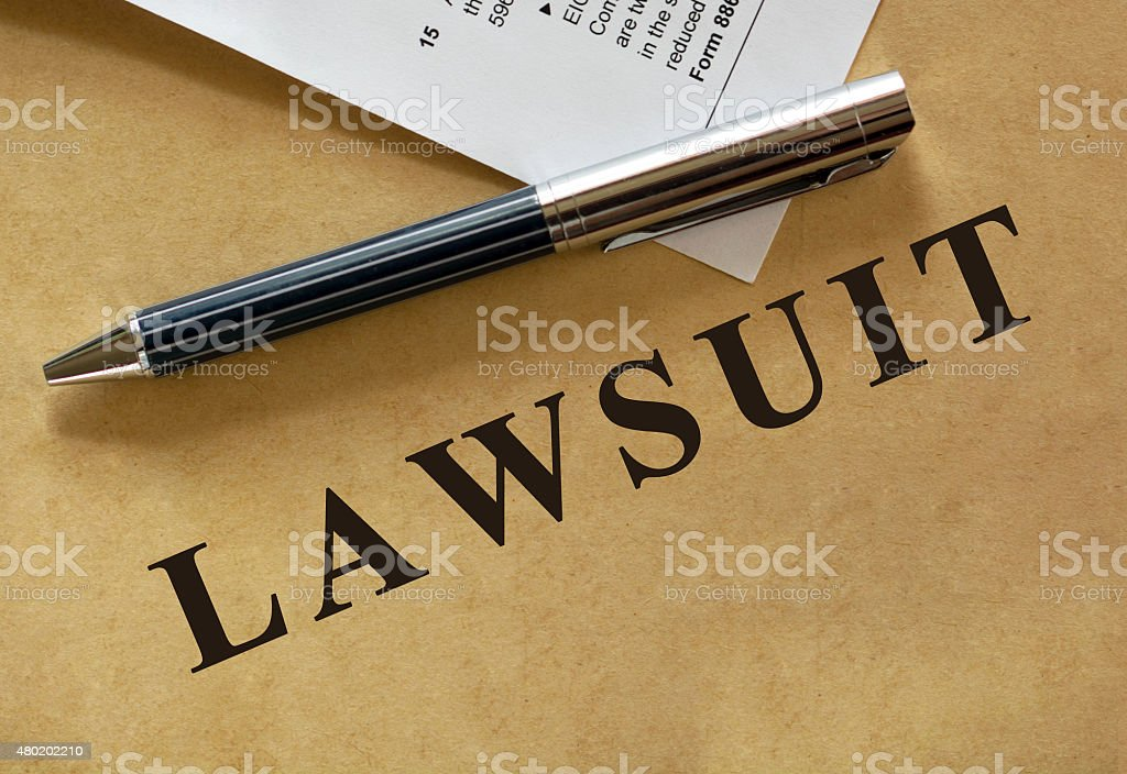 Legal series stock photo