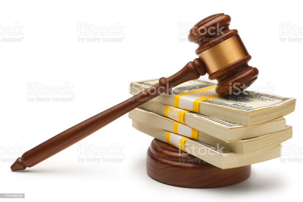 Legal Settlement royalty-free stock photo