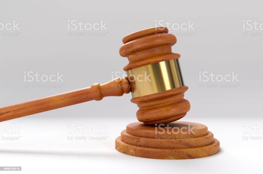 Legal System, Gavel stock photo