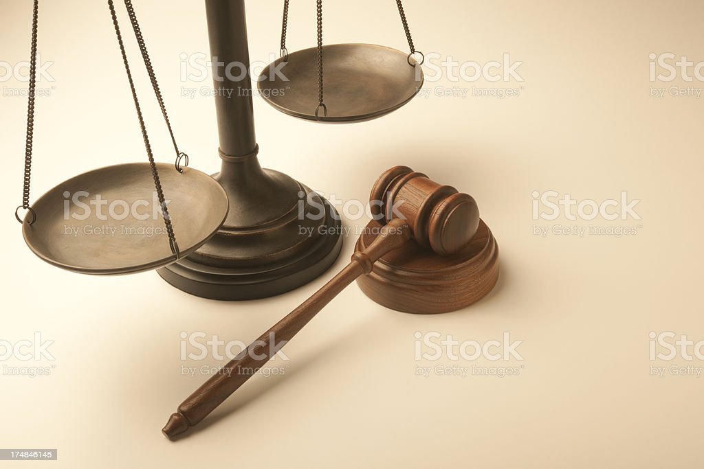 Legal System royalty-free stock photo